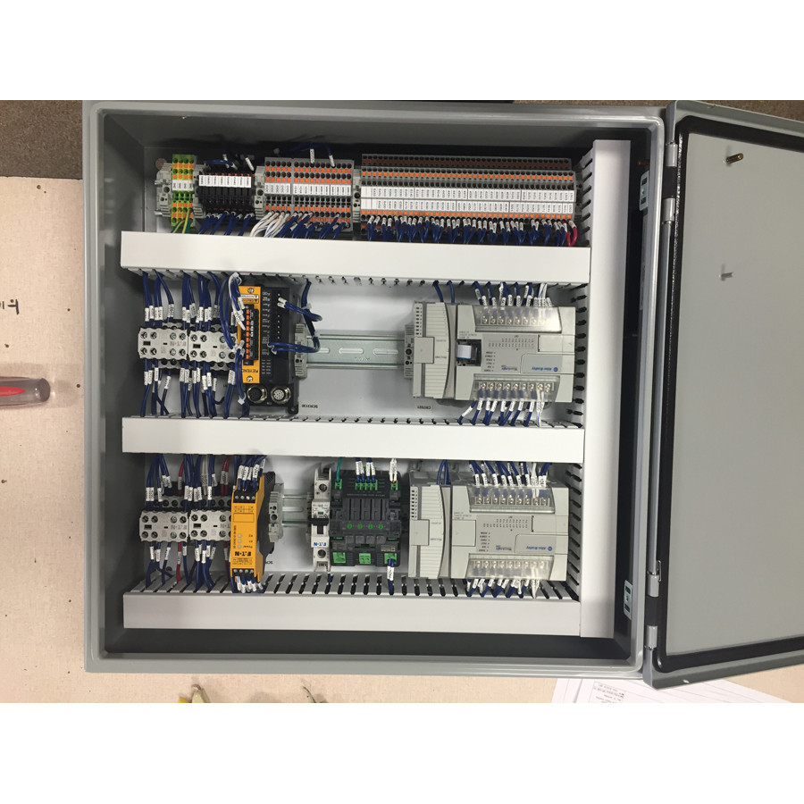 Panel Wiring Mardon Control Systems Enclosure 8